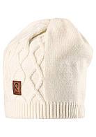Вязанная зимняя шапка для девочки Reima 528490-0110. Размер 50-56.