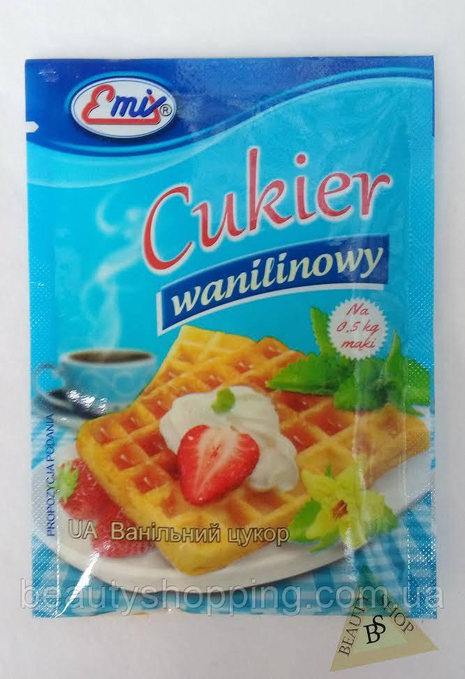 Сахар ванильный 16 гр  Emix Польша