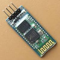 Bluetooth модуль HC-06 RS232 приемо-передатчик с антенной, на подложке, интерфейс RS232