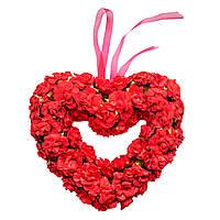 Подвеска сердце (30 см) 12А026