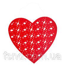 Подвеска сердце (40 см) 13-309