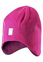 Шерстяная зимняя шапка для девочки Reima 528492-4620. Размеры 52 - 56. , фото 1