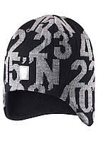 Зимняя шапка для мальчика Reima 528493-9990. Размер 54. , фото 1