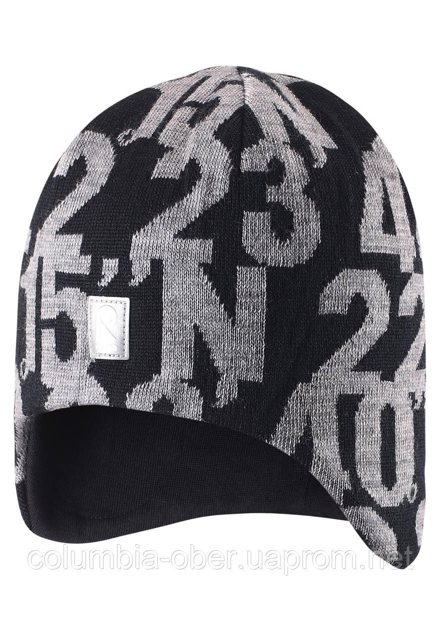 Зимняя шапка для мальчика Reima 528493-9990. Размер 54.