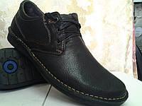 Стильные осенние мокасины на шнурках Detta