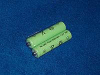 АКБ AAA HR 1800 mAh 1.2V Ni MH green зеленая аккумуляторная батарея никель Nickel Metal Hydride