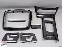 Карбоновые элементы интерьера в салоне Mercedes Benz G class W463