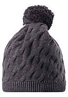 Зимняя шапка с помпоном для мальчика Reima 528496-9400. Размер  52-56. , фото 1