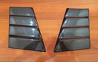 Карбоновые накладки на передние крылья в стиле Brabus на Mercedes Benz G class W463