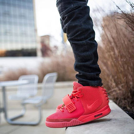 "Кроссовки Nike AIr Yeezy 2 ""All Red"", фото 2"
