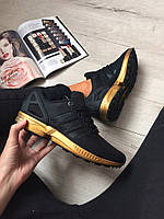 "Кроссовки Adidas ZX Flux ""Gold/Black"""