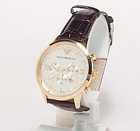 Часы наручные  с календарем мужские ARMANY копия