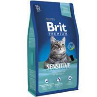 Сухой корм Brit Premium Cat Sensitive для котов 1.5 кг.