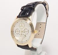 Часы наручные  с календарем мужские Mersedes Benz копия