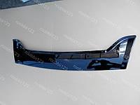 Мухобойка дефлектор RENAULT TRAFIC (короткая) (2001->) оргстекло (Fly) оригинал