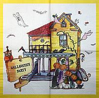 Редкая салфетка декупажная Хелоувин 6217
