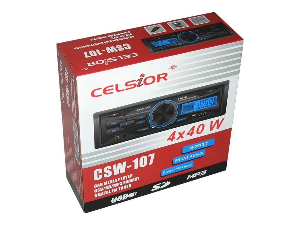 Celsior CSW-107 mp3 Автомобильная авто магнитола Автомагнитола Автозвук