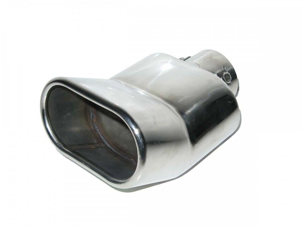 Насадка наконечник глушителя YFX-0361 (35-50мм) тюнинг на выхлопную трубу глушитель универсальная