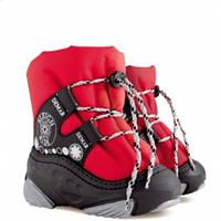 Детские зимние сапоги-дутики Демар SNOW RIDE красные р.20-29 теплющие на широкие и узкие ножки