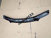 Мухобойка дефлектор капота AUDI A6 (C5) (1997-2004) (VIP) УСИЛЕННАЯ!