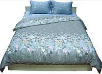Комплект постельного белья Руно сатин 20-1304 Grey полуторный