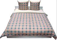 Комплект постельного белья Руно бязь Шотландка евро