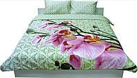 Комплект постельного белья Руно сатин 20-1316 green евро
