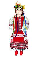 """Кукла сувенирная керамическая """"Олеся"""" красная"""