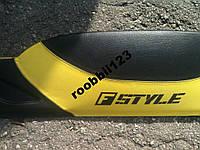 Накладка на торпеду панель Ваз 2105 2104 желтая КАЧЕСТВО!