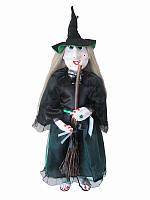 Кукла-оберег Баба-Яга (зеленая шляпа) (Куклы)