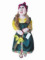 Кукла-оберег Баба-Яга (фиолетовый платок) (Куклы)
