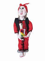 Оберег Баба-Яга (красное платье) (Куклы)