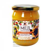 Мед подсолнечный Пасека Правильный мед 460мл