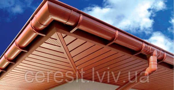 Підшивка даху софіт