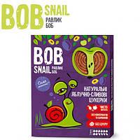 Натуральные конфеты Bob Snail Яблоко-слива, 120 г
