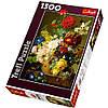 Пазлы 26120  Trefl, Натюрморт с цветами, 1500дет, в кор-ке, 40-27-6см