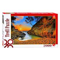 Пазлы 27048 (6шт) Trefl, Восход солнца (Коста Брава, Испания), 2000 дет, в кор-ке, 40-27-6см
