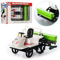 Трактор 558-30B (24шт) сельхозтехника, 22-16-12см, в кор-ке, 28,5-20,5-13,5см