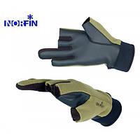 703055-L перчатки флис-непреновые ветрозащитные Norfin