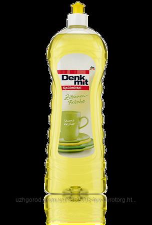 Жидкость для мытья посуды Denkmit Spulmittel Zitroen frische 1000 мл.