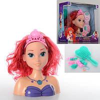 Кукла-голова для причесок S25 Принцесса