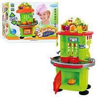 Кухня детская 10147 с посудой