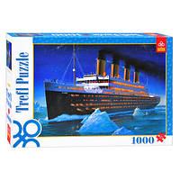 Пазлы 10080  Trefl, Титаник, 1000 дет, в кор-ке, 40-27-6см