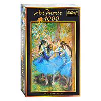 Пазлы 10361 (6шт) Trefl, Арт Пазл, Танцовщицы в голубом, 1000дет, в кор-ке, 40-27-6см