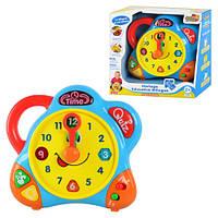 Развивающая игрушка 3898T PINK Часы (английский, немецкий)