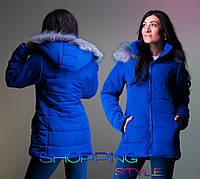 Зимняя женская куртка хорошего качества 44-54 р