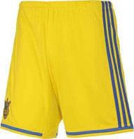 Игровые шорты сборной Украины по футболу Adidas Home Kit (FFU)