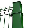 Столб на анкерное крепление в ППЛ 58х38х1.5мм 1.1м