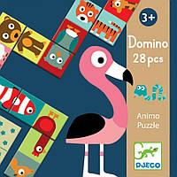 DJECO Игра  детское домино Сложи животное