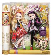 Кукла Ever After High Apple White & Raven Queen Mattel Эппл Уайт и Рэйвен Квин  School Spirit